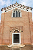 Facade of Scrovegni Chapel in Padua — Stock Photo