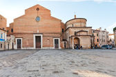 Padua Cathedral with the Baptistery, Italy — 图库照片