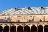ściany palazzo della ragione w padwie — Zdjęcie stockowe