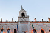 Llumination ратуша Палаццо Морони в Падуе — Стоковое фото