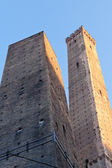 Two tower in Bologna, Italy — Stock Photo