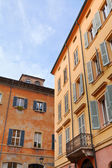 Medieval houses in Modena, Italy — Stock Photo
