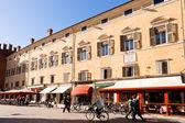 Corso Martiri della Liberta in Ferrara, Italy — Stock Photo