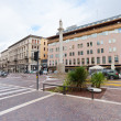 Corso Giuseppe Garibaldi in Padua, Italy in autumn day — Stock Photo