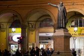Statue of Padre Ugo Bassi in Bologna, Italy — Stock Photo