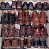 Shoes cabinet — Stock Photo