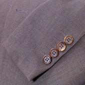 Fragment of wool men's suit — Stock Photo