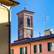 Old italian tower and houses , Bologna, — Stock Photo #18332143