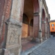 Stock Photo: Medieval portico - arcade in Bologna