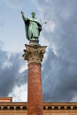 Column of Saint Dominic, Bologna, Italy — Stock Photo