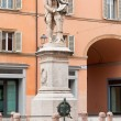 Stock Photo: Statue of Luigi Galvani in Bologna, Italy