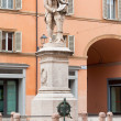 Statue of Luigi Galvani in Bologna, Italy — Stock Photo #18959207