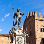 Fountain of Neptune, Bologna — Stock Photo #18959529