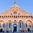 Stock Photo: Front view of Basilica di Sant Antonio da Padova, in Padua, Ital