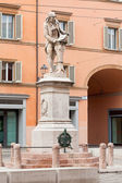 Statue of Luigi Galvani in Bologna, Italy — Stock Photo