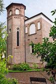 Torre de la cappella degli scrovegni en padua — Foto de Stock