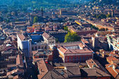View from Asinelli Tower on Bologna — Stock Photo