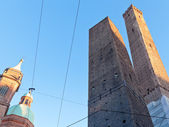 View of two tower in Bologna — Stock Photo