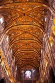 Painted ceiling of Parma Cathedral — Stock Photo