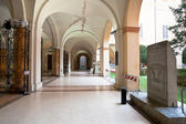 Inner gallery of Modena — Stock Photo