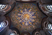 Ceiling Mosaic of the neoniano Baptistery in Ravenna — Stock Photo