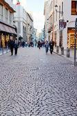 Shopping street in Padua, Italy — Stock Photo