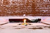 永恒的火焰的无名战士,莫斯科之墓 — 图库照片