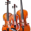 Three sizes of violins — Stock Photo #20042739