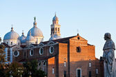 View of the Basilica of Santa Giustina, Padua — Stock Photo