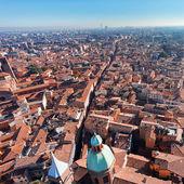 View of via San Vitale in Bologna — Stock Photo