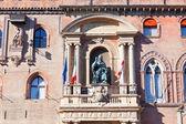 Medieval palazzo comunale in Bologna, Italy — Stock Photo