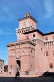 Castle Estense in Ferrara — Stok fotoğraf