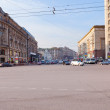Tverskaya street from Manege square in Moscow — Stock Photo #20500401