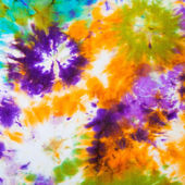 Abstract pattern on silk batik — Stock Photo