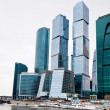 Office center glass skyscrapers — Stock Photo #21658319