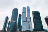 New Moscow city tower office building — Stock Photo
