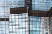 Glass skyscraper wall — Stock Photo