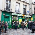 barrio judío de le marais de París, Francia — Foto de Stock   #22982620