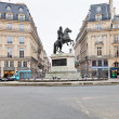 Place des Victoires, Paris — Stock Photo
