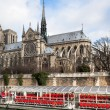 Stock Photo: Cathedral Notre Dame de Paris
