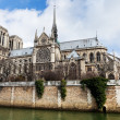 Cathedral Notre Dame de Paris — Stock Photo