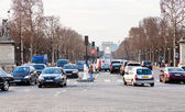 Avenues des Champs Elysees in Paris — Stock Photo