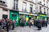 Jewish quarter of Le Marais in Paris, France — Stock Photo