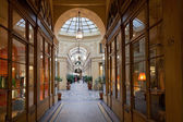 Galerie Vivienne - passage in Paris — Stock Photo