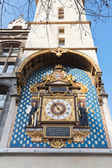 Wall clock on Conciergerie tower in Paris — Stock Photo