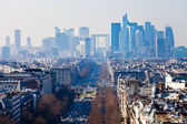 Above view of la Defense in Paris — Foto de Stock