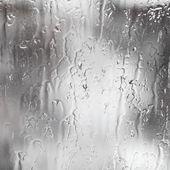 Rain streams on window — Stock Photo