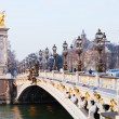 Pont alexandre iii in Paris — Stock Photo