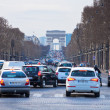 Stock Photo: Avenues des Champs Elysees in Paris