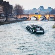 Seine river and Pont Neuf in Paris — Stock Photo